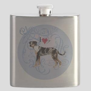 catahoula-charm2 Flask