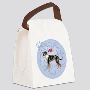 catahoula-charm2 Canvas Lunch Bag
