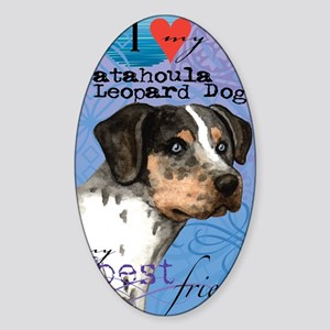 catahoula-iPad Sticker (Oval)