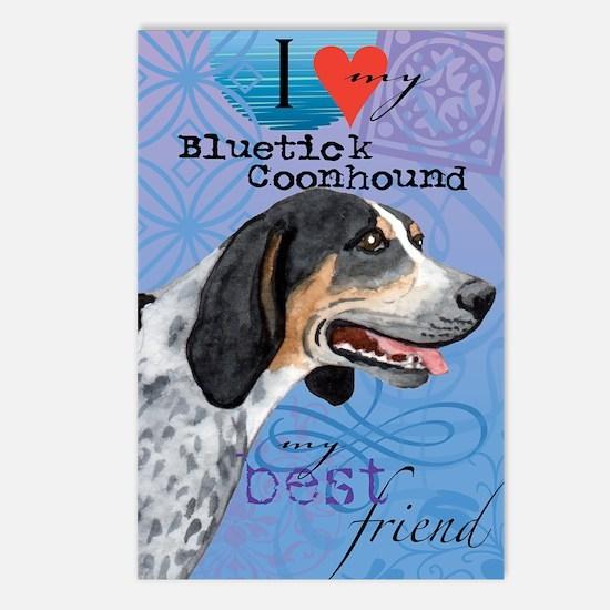 bluetick-iPad Postcards (Package of 8)