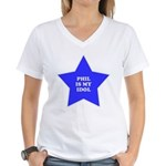 Phil Is My Idol Women's V-Neck T-Shirt