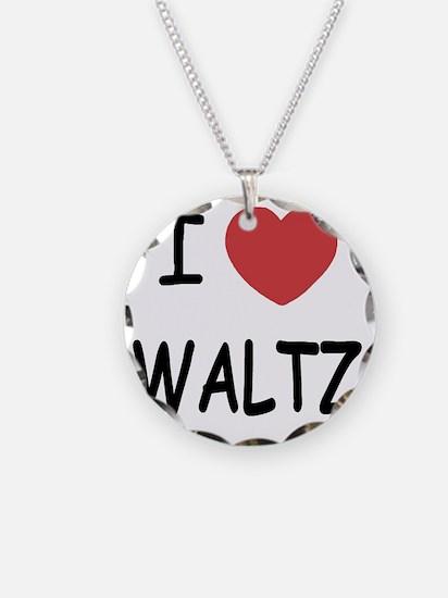 WALTZ Necklace Circle Charm