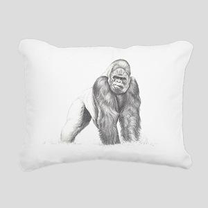 Tatu portrait Rectangular Canvas Pillow