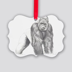Tatu portrait Picture Ornament