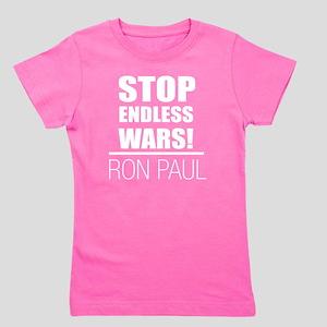 stop_endless_wars_rev Girl's Tee