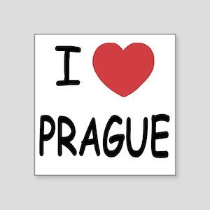 """PRAGUE Square Sticker 3"""" x 3"""""""