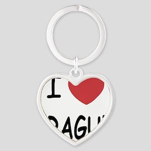 PRAGUE Heart Keychain