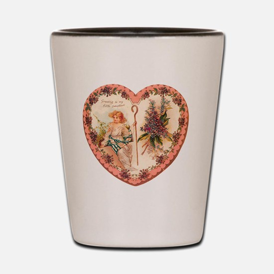 03-Greeting-Little-Sweetheart Shot Glass