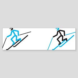 tele stick mug Sticker (Bumper)