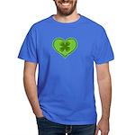 Irish Shamrock Heart St. Part Dark T-Shirt