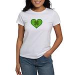 Irish Shamrock Heart St. Part Women's T-Shirt