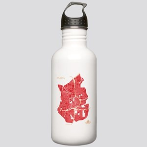 M-NV_ATL-GA_RD-GD_1 Stainless Water Bottle 1.0L