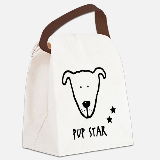 pup-star Canvas Lunch Bag