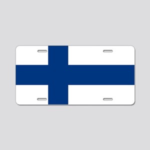 2000px-Flag_of_Finland Aluminum License Plate