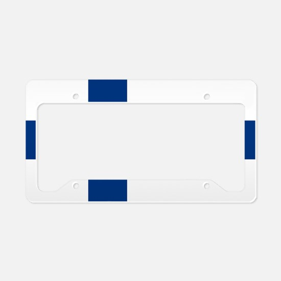 2000px-Flag_of_Finland License Plate Holder