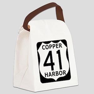 copper harbor 41 Canvas Lunch Bag