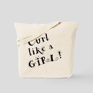 curllikeagirl Tote Bag