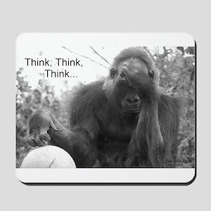 Think Think Think! Mousepad