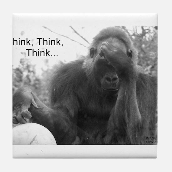 Think Think Think! Tile Coaster