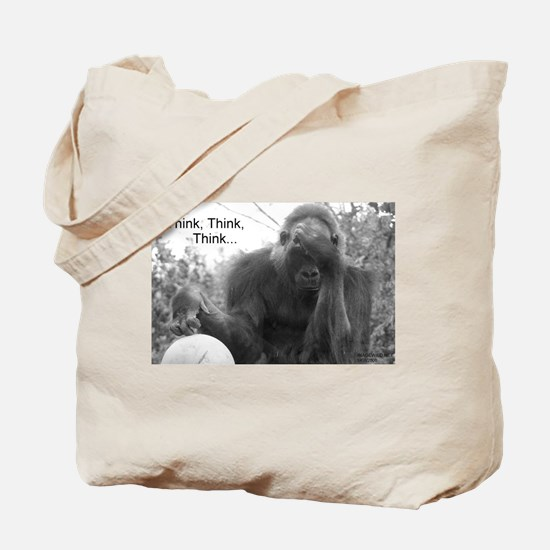 Think Think Think! Tote Bag