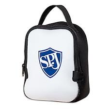 SPJ Shield - No Text Neoprene Lunch Bag