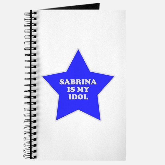 Sabrina Is My Idol Journal