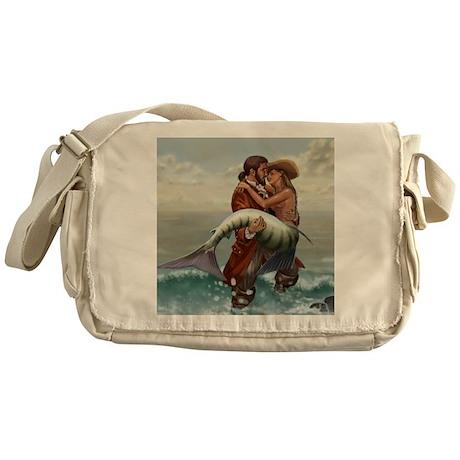 pirate and mermaid Messenger Bag