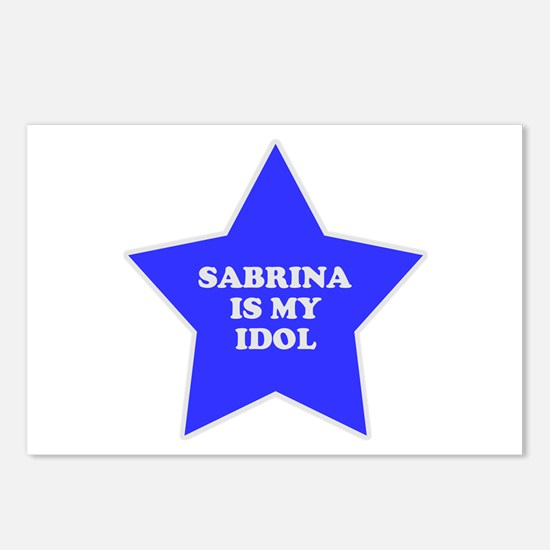 Sabrina Is My Idol Postcards (Package of 8)