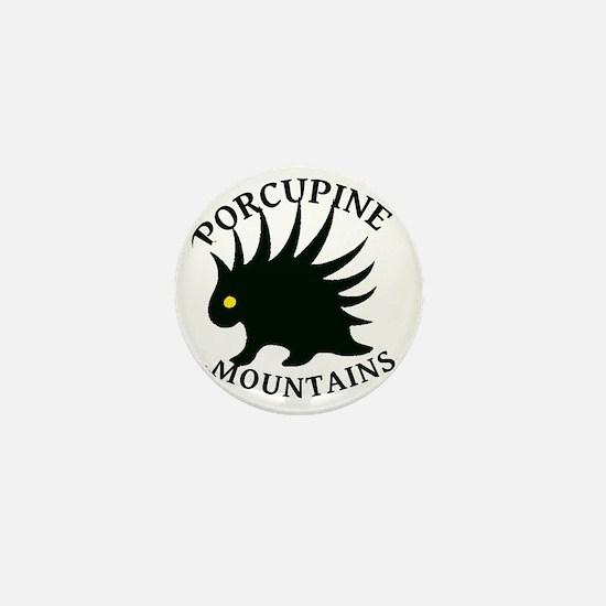 PorcupineMountains Mini Button