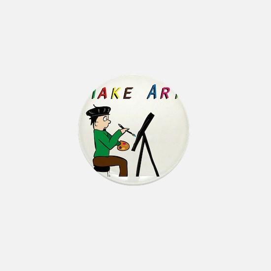 Make Art Everyday Mini Button