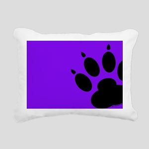laptopskinspurpdogpaw Rectangular Canvas Pillow