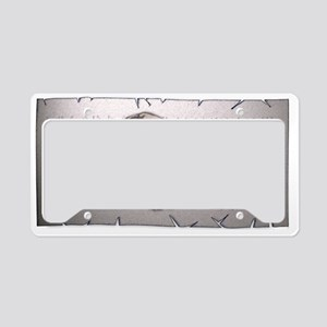 odhin-on-parch License Plate Holder