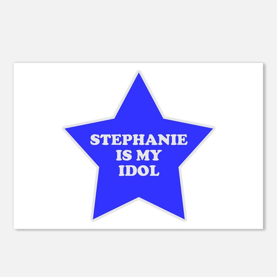 Stephanie Is My Idol Postcards (Package of 8)