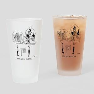 5964_real_estate_cartoon Drinking Glass