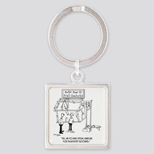 6125_construction_cartoon_TWZ Square Keychain