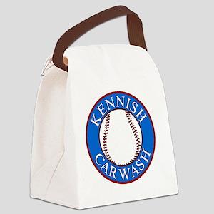 Kennish-Car-Wash-Smaller Canvas Lunch Bag