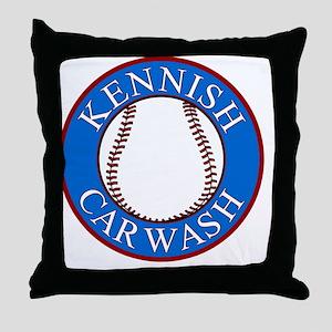 Kennish-Car-Wash-Smaller Throw Pillow