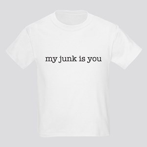 my junk is you Kids T-Shirt