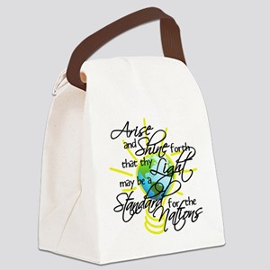 arise and shine3 copy Canvas Lunch Bag