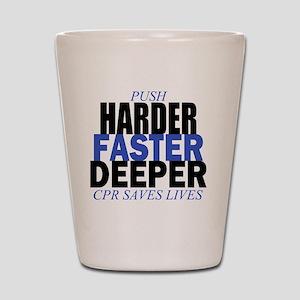 HARDER Shot Glass
