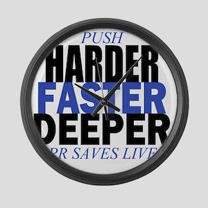HARDER Large Wall Clock