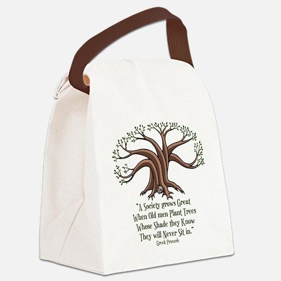 greek-trees-LTT Canvas Lunch Bag