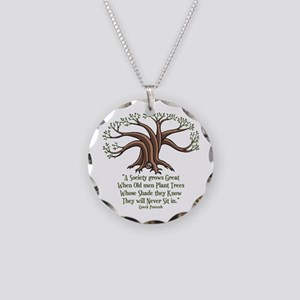 greek-trees-LTT Necklace Circle Charm