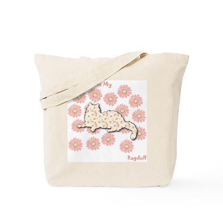Ragdoll Happiness Tote Bag