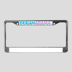 DURAN LOGO New Retail License Plate Frame