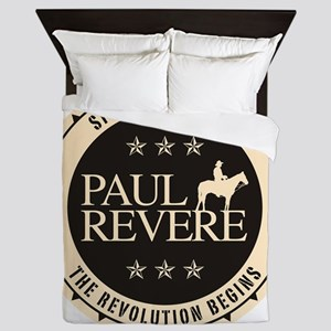 jan11_paul_revere2 Queen Duvet