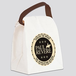 jan11_paul_revere2 Canvas Lunch Bag