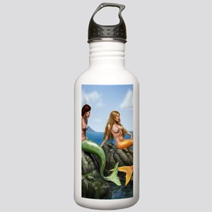 pensive mermaids on ro Stainless Water Bottle 1.0L