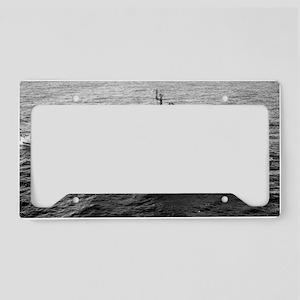 higbee ddr lare framed print License Plate Holder