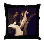 Borzoi Essence Throw Pillow